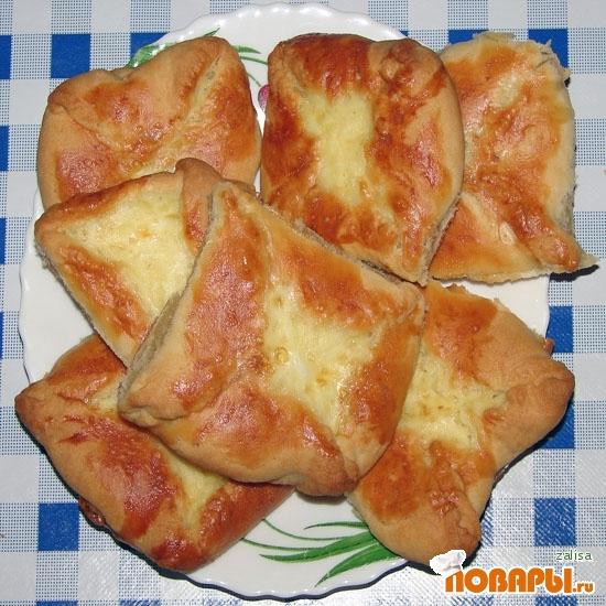 Рецепт Хачапури с картофелем и брынзой