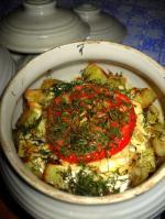 Картофель по домашнему в горшочках