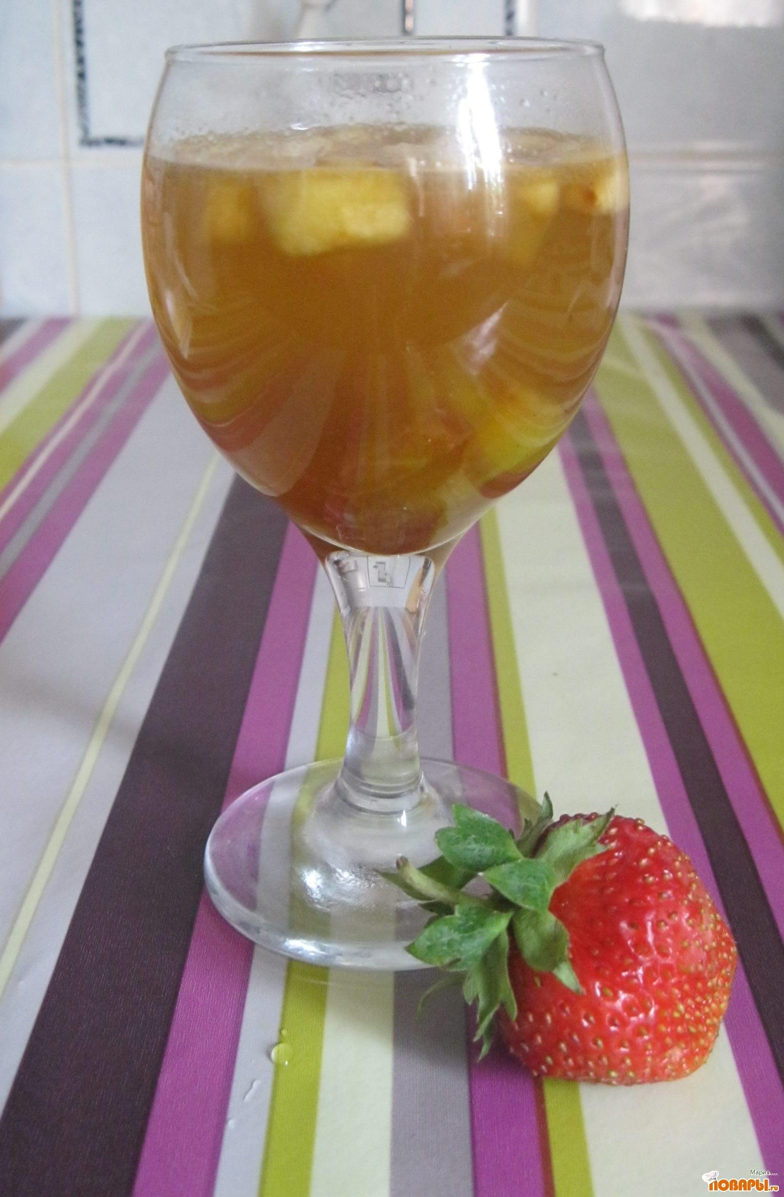 Рецепт Яблочно - тыквенное желе с ананасом