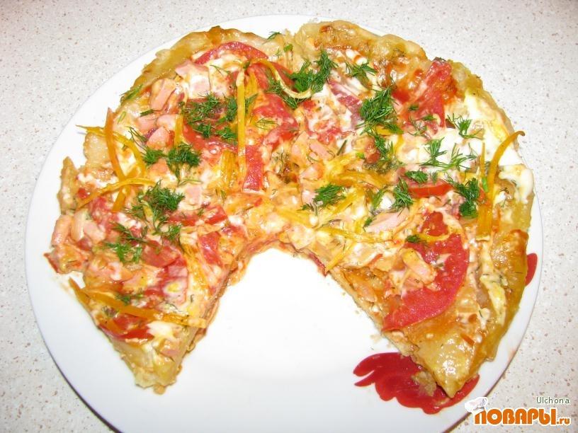 Рецепт Пицца в мультиварке