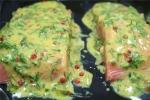 Пирожок из семги