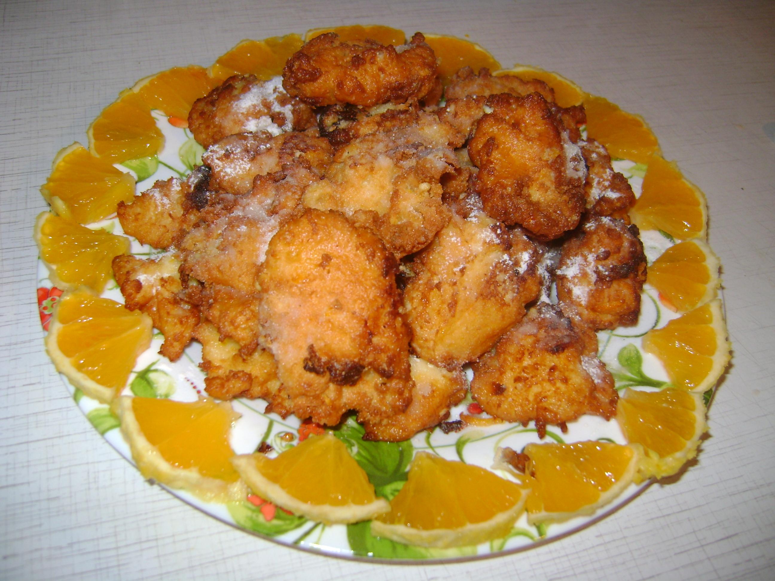 Рецепт Апельсиновые колобки