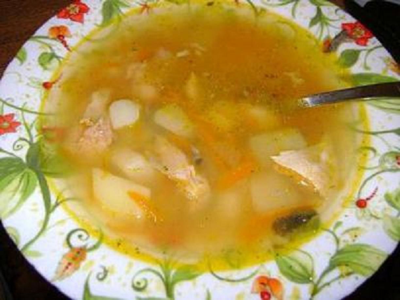 Суп с свежей горбушей рецепт пошагово