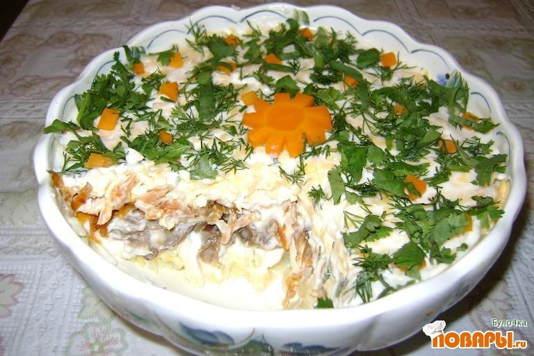 "Рецепт Салат ""Красавица"""