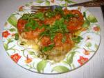 Баклажанчик и помидорка под сыром