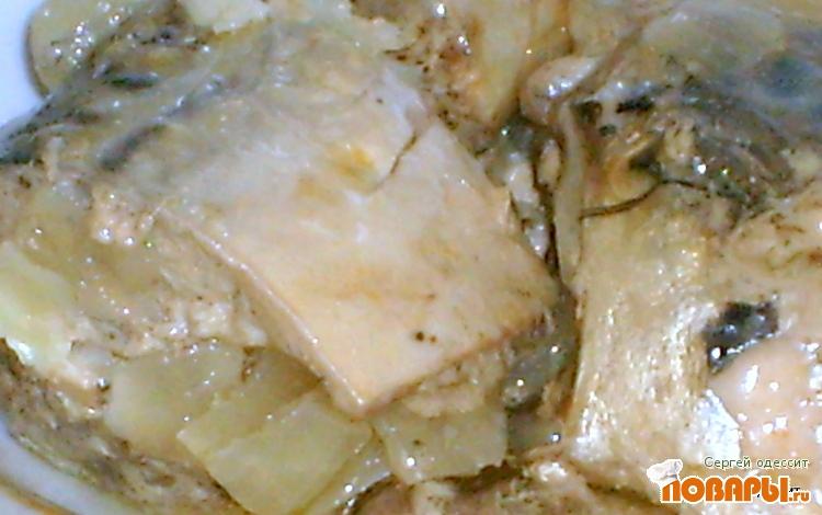 Рецепт Консервы из скумбрии в микроволновке