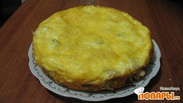 Рецепт Запеканка из цветной и брюссельской капусты