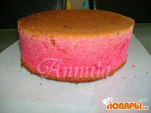 """Рецепт """"Красный бархатный торт"""""""