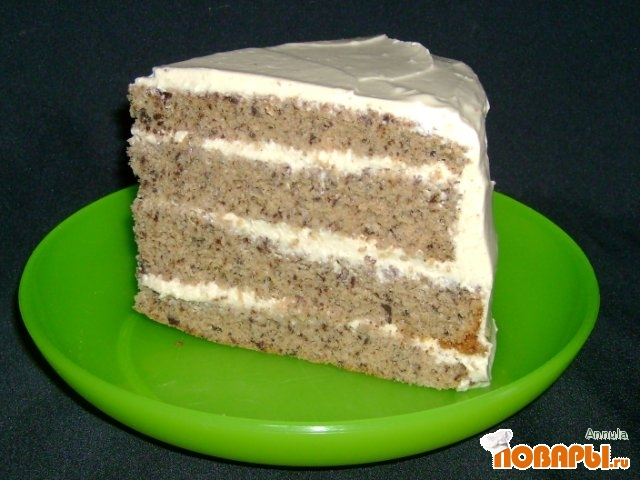 Рецепт Шифоновый бисквит с шоколадом и эспрессо