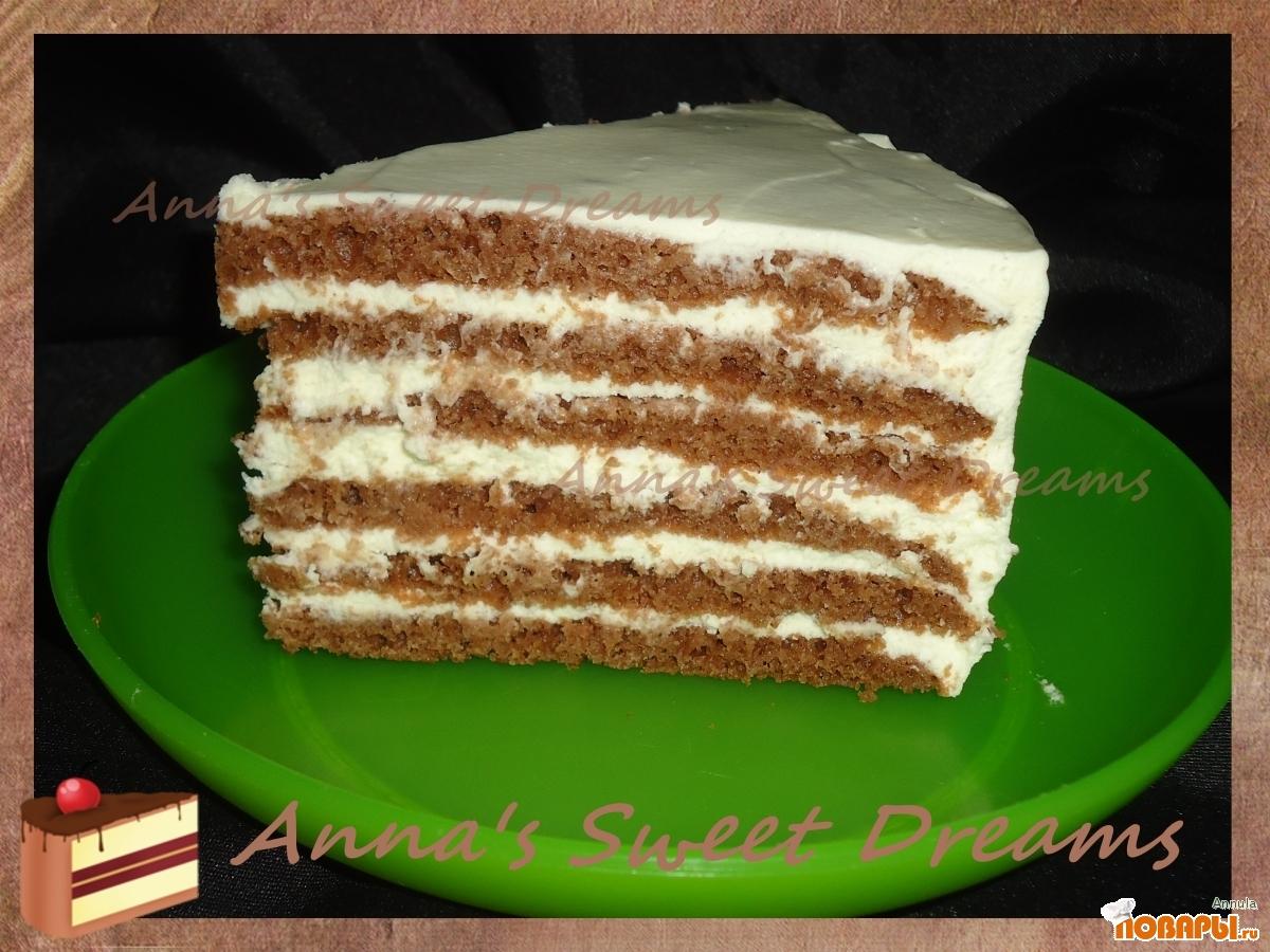 Рецепт Многослойный шоколадный торт