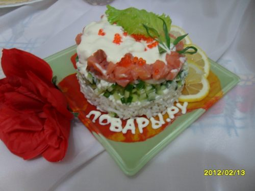 Рецепт Рыбный коктейль