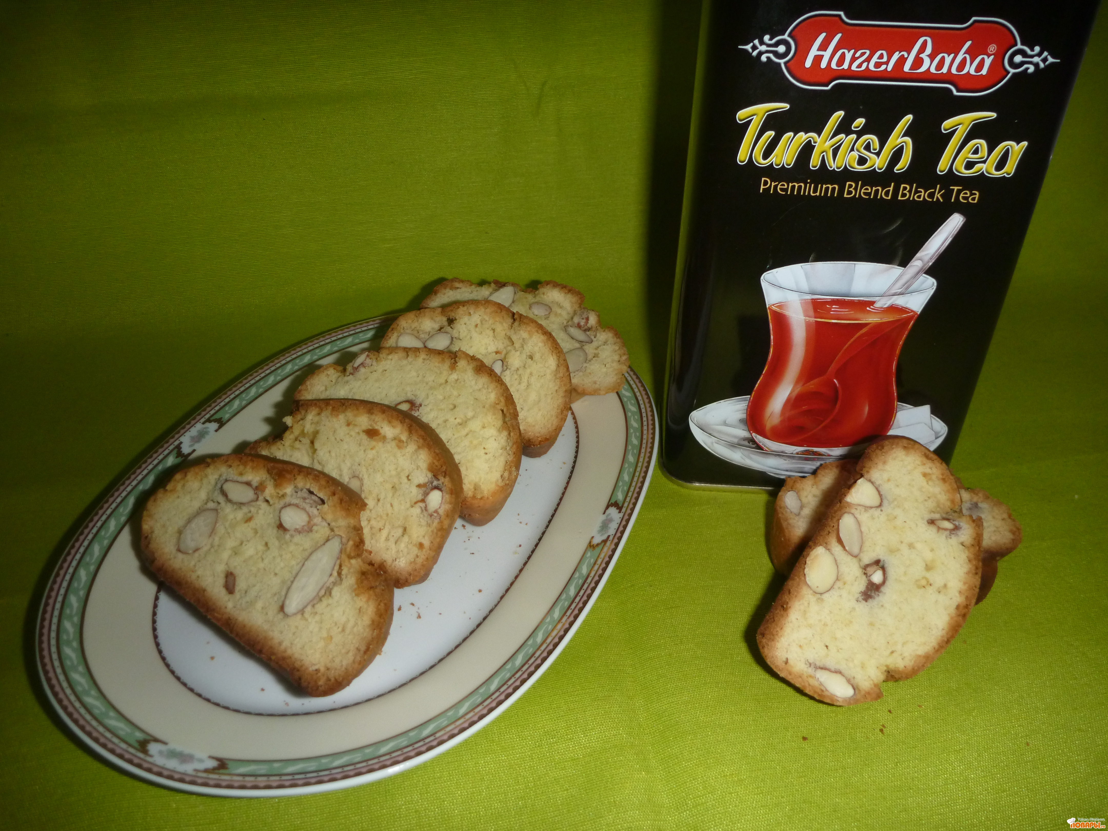 Рецепт Кантуччи - итальянское печенье с миндалем