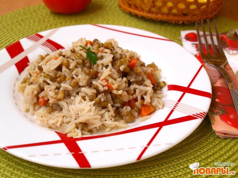 Рецепт Гарнир из маша и риса
