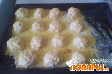 Рецепт Шарики куриные в сливочном соусе