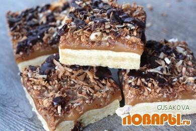 Рецепт Пирожные «Самоа»