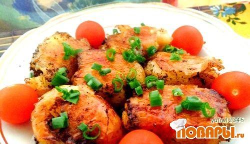 Рецепт Идеальный запеченный картофель