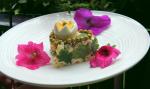 Украшение салата Оливье