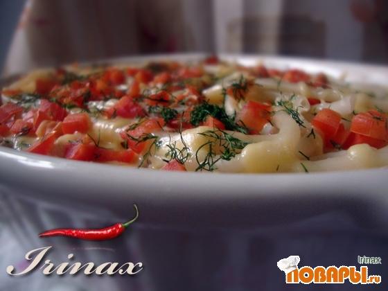 Рецепт Тимбаль с курицей и грибами