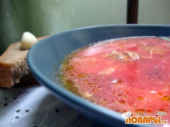 Рецепт Борщ с мясом