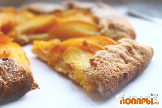 Рецепт Галета с персиками
