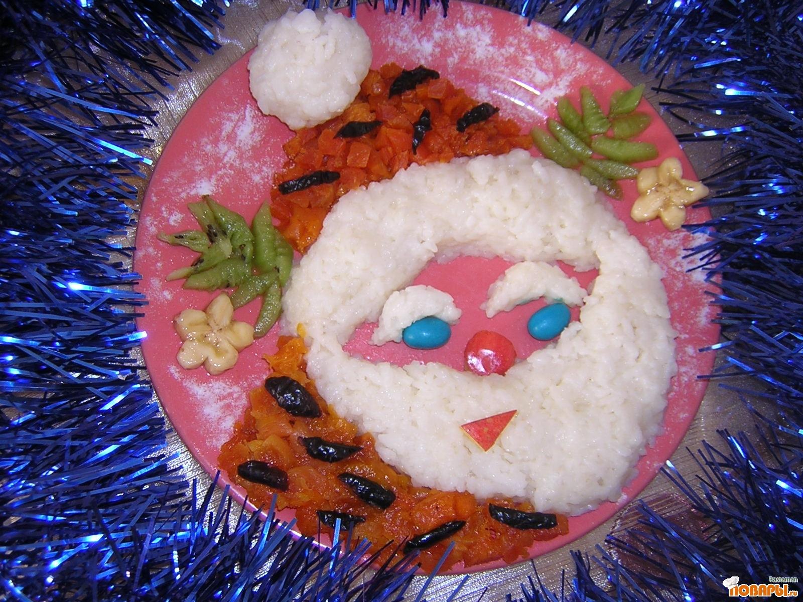 Рецепт Дед Мороз в тигровой шубе
