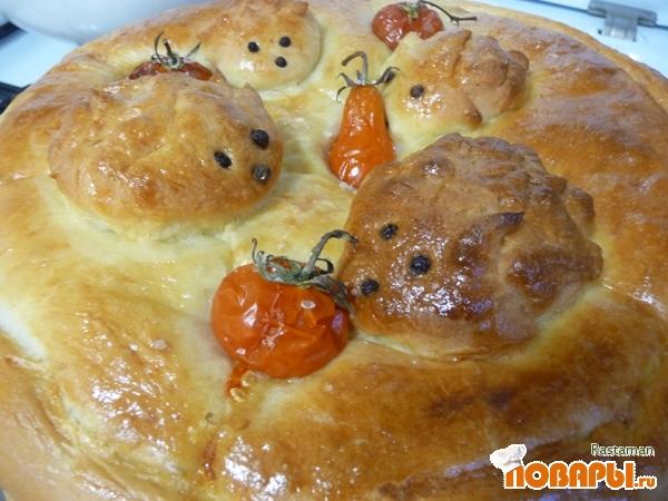 Рецепт Пирог с начинкой из капусты с мясом