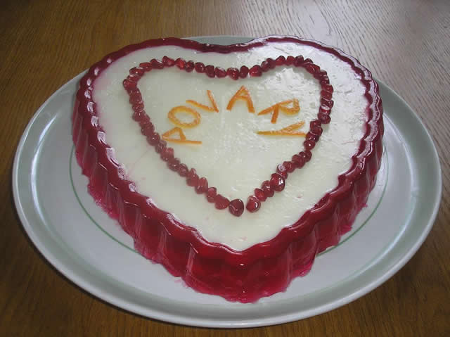Рецепт Гранатовое сердце