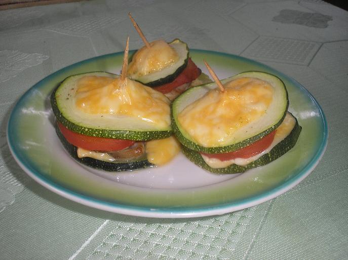 Рецепт Бутерброды из кабачка