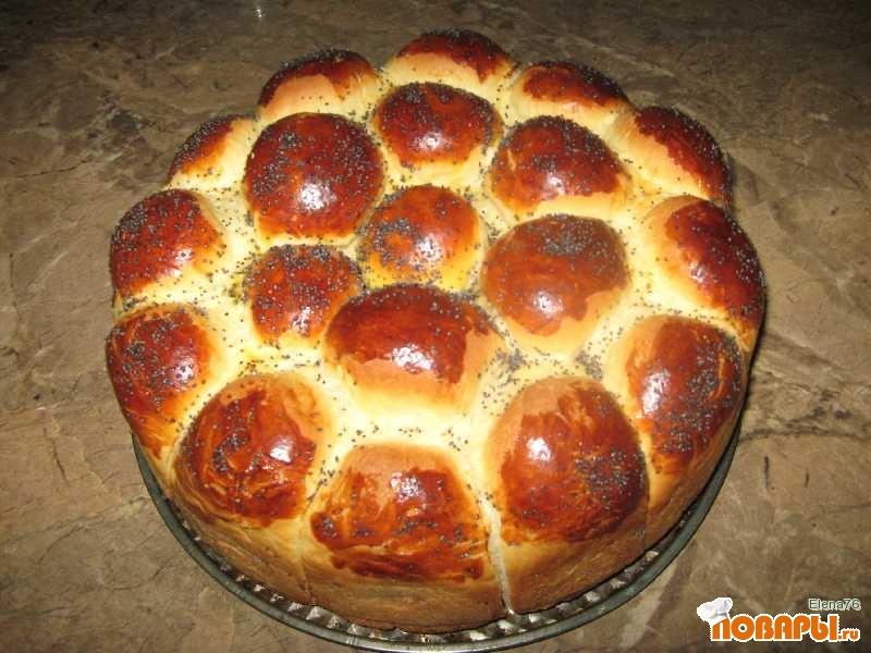 Рецепт Дунайский пирожковый пирог