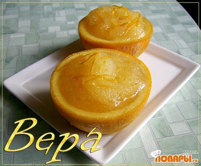 Рецепт Апельсиновый шербет.