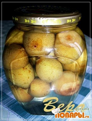Рецепт Грушевый компот.