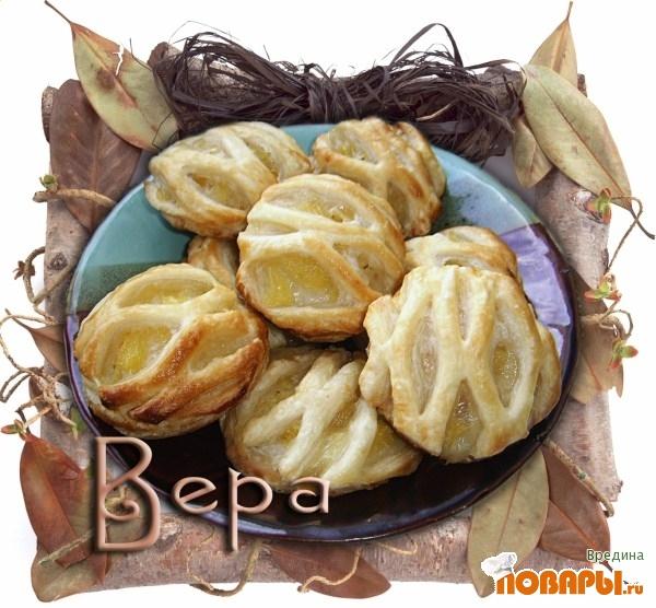 Рецепт Решетчатое ананасовое печенье.