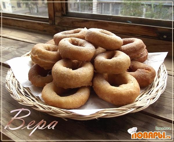 Рецепт Пончики с корицей.