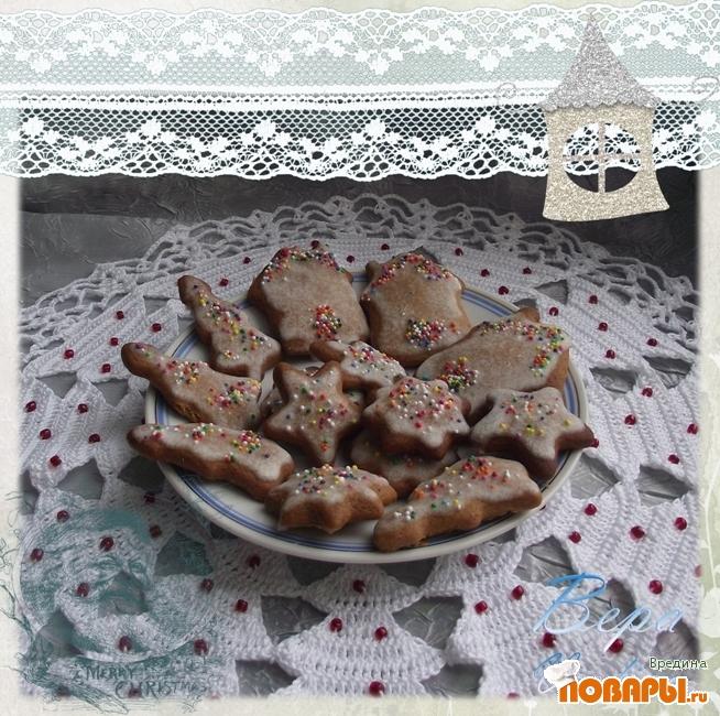 Рецепт Пряничное печенье.