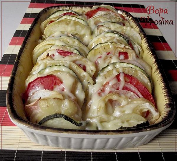 Рецепт Овощи запеченные в духовке