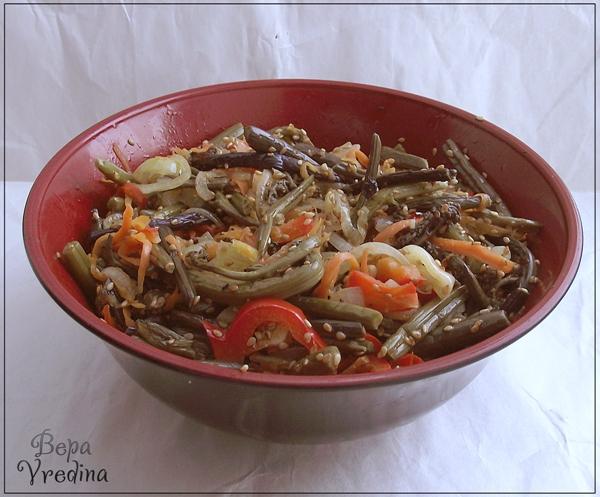 Рецепт Салат из папоротника