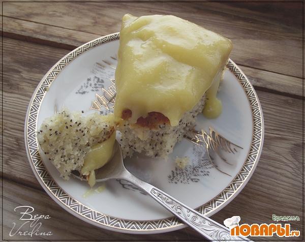 Рецепт Лимонно-маковый пирог в мультиварке