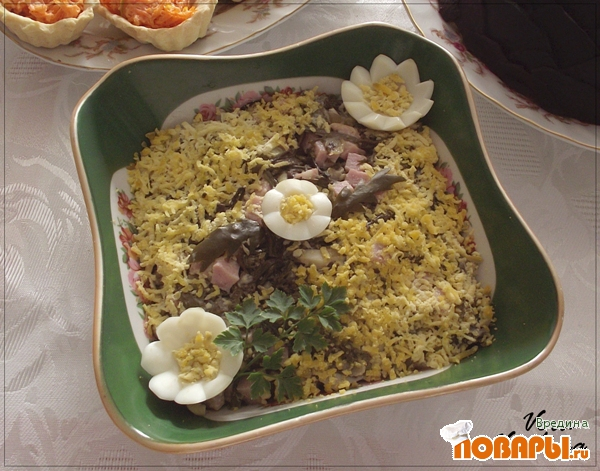 Рецепт Салат с папоротником