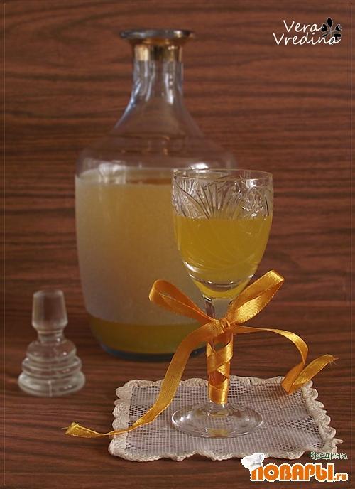 Рецепт Апельсиновый ликер.