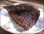 Хрустящий шоколадный тарт.