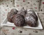 Шоколадные мадленки с черносливом.