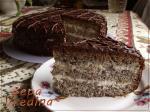 Маковый торт.