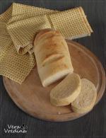 Хлеб на сыворотке с кукурузной мукой