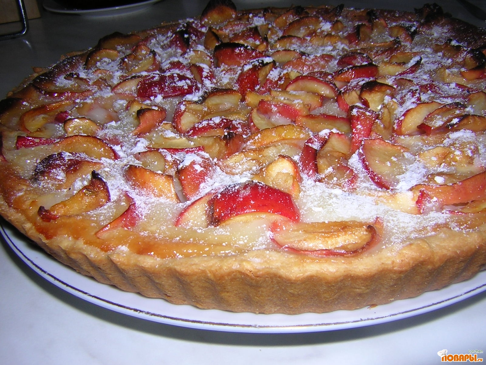 Рецепт с цветаевского пирога 200