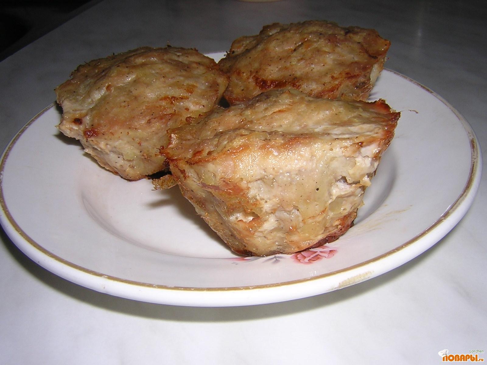 Рецепт маффины куриные