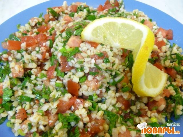 Рецепт Табули (ливанский салат)
