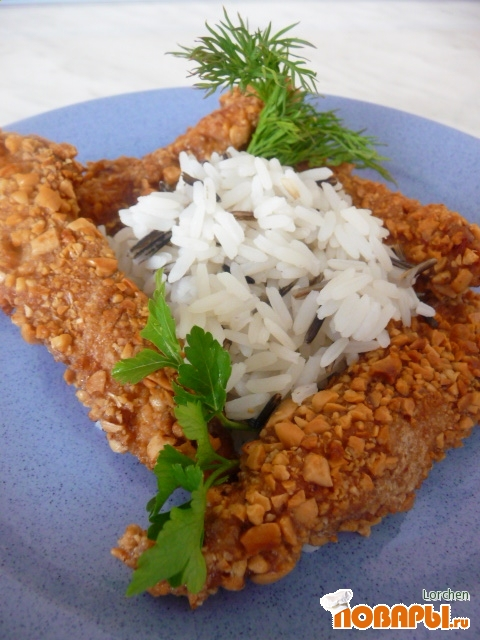 Рецепт Курочка в арахисе