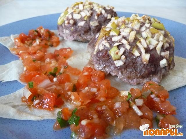 Рецепт Котлеты по-мексикански с Salsa Mexicana