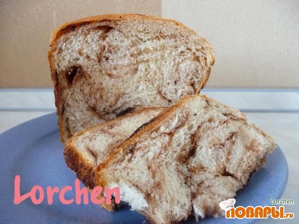 Рецепт Хлеб с шоколадом (для хлебопечки)
