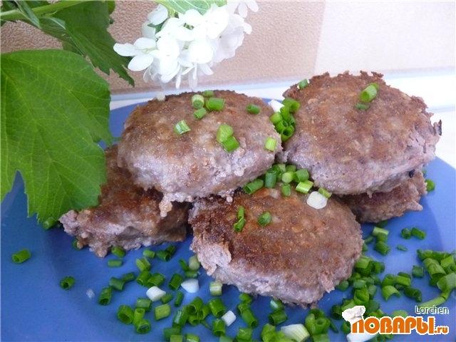Рецепт Бифбургеры с сыром